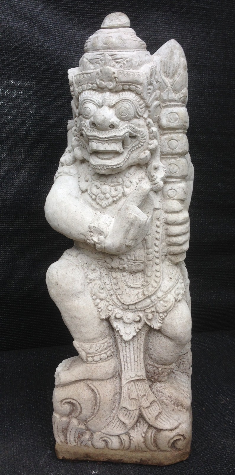 Hanuman, right statue, 62 cm